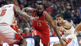 2017年3月11日NBA常规赛火箭VS公牛全场视频集锦