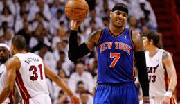 NBA常规赛分析 尼克斯VS热火