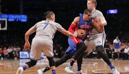 NBA常规赛分析 活塞VS篮网