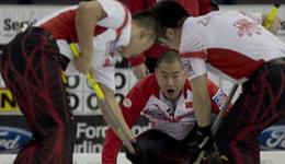 男子冰壶队力克日本 世锦赛排名第五史上成绩第二
