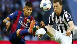欧冠1/4决赛分析 尤文图斯VS巴塞罗那