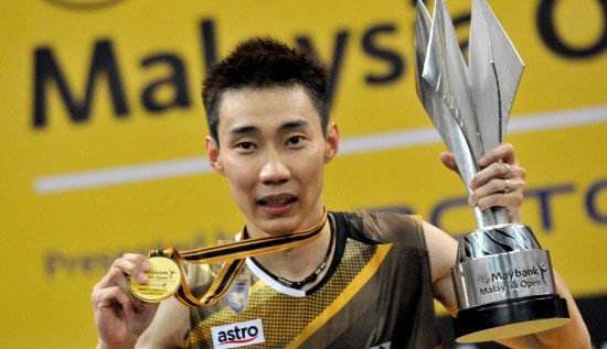 男子羽毛球单打王者 男单世界羽联排名