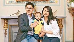 郭晶晶霍启刚二胎怀女凑好字 本月在香港待产