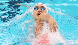 徐嘉余冠军赛破亚洲纪录 只比世界纪录慢0.01秒