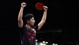 亚乒赛马龙首发小丢一局取胜 中国队横扫韩国实现10连冠