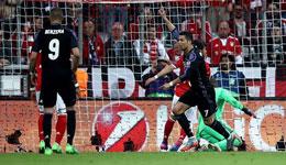 欧冠1/4决赛第二回合 皇马坐镇伯纳乌球场迎战拜仁慕尼黑
