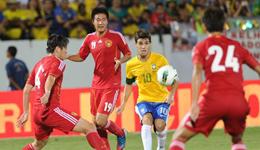 中国足球最大比分差 国足史上最大输球分差