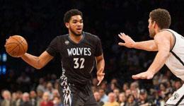 2017年1月29日NBA常规赛 森林狼vs篮网视频集锦