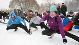 冬天太冷怎么健身 冬季健身运动推荐