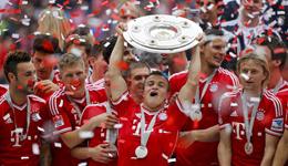 历届德甲冠军 德甲夺冠最多的球队是哪支