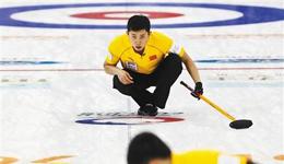 混双冰壶世锦赛开门红 中国混双有望直通平昌
