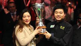 丁俊晖夺斯诺克世锦赛冠军来纪念母亲