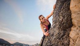 国外攀岩达人 美女攀岩高清视频
