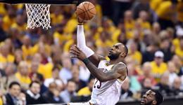 NBA半决赛骑士VS猛龙 詹皇发力骑士开门红