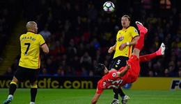 2016-17赛季英超第35轮 利物浦1-0沃特福德