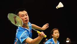 教打羽毛球教学视频 羽毛球技巧双打平抽和封网