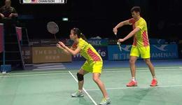 羽毛球技巧双打接发球准备动作 教打羽毛球教学视频