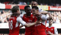 2016-17赛季英超联赛第36轮 英超曼联0比2阿森纳