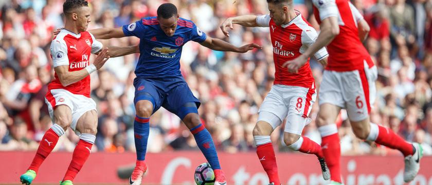 2016-17赛季英超联赛第36轮 英超曼联0比2阿森纳图片
