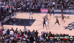 NBA半决赛火箭VS马刺 妖刀封盖哈登绝杀3-2