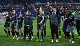 2016-17赛季欧联杯 阿贾克斯总比分5比4晋级决赛