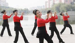 《万树繁花》广场舞教学视频 广场舞视频分解慢动作