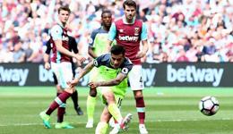 2016-17赛季英超第37轮 利物浦4-0西汉姆联