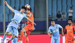 2016-17赛季中超第9轮 苏宁2-1逆转鲁能