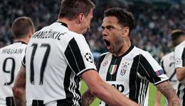 欧冠尤文2比1摩纳哥晋级决赛集锦 欧冠阿尔维斯集锦