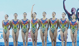 2017全运会花样游泳 花样游泳比赛规则观赛礼仪