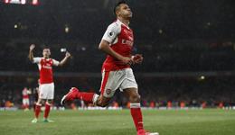 2016-17赛季英超联赛第34轮补赛 阿森纳主场2比0击败桑德兰