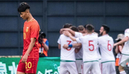 国际青年足球锦标赛 U19国青1-4惨败匈牙利