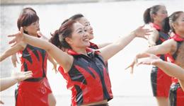 《三笑》简单广场舞教学 广场舞教学视频分解慢动作