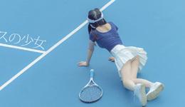 日本网球少女运动服清新写真 日本网球美女无圣光照片