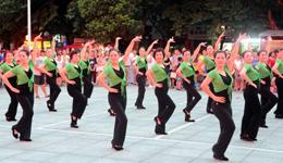 《离别的车站DJ》简单广场舞教学 广场舞教学视频分解慢动作