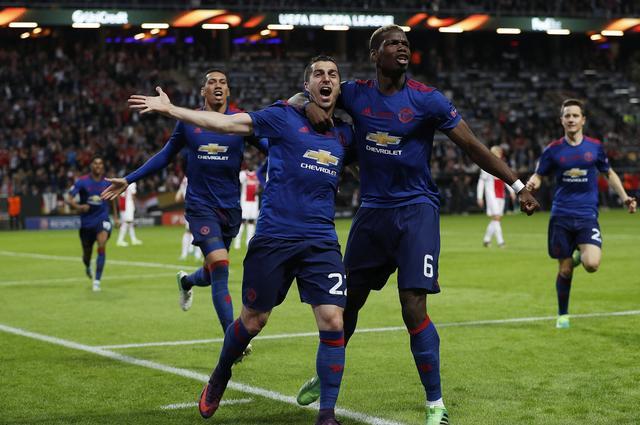 欧联杯-曼联2-0阿贾克斯首夺冠 下赛季战欧冠