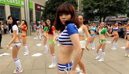 《越跳越美》广场舞 广场舞教学视频分解慢动作
