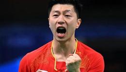 2017乒乓球日本公开赛中国 马龙4-0暴打日本选手吉村真晴