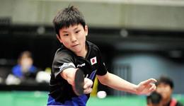 2017乒乓球日本公开赛录像 张本智和vs佩尔森男单视频