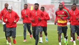 喀麦隆队训练备战联合会杯 2017联合会杯最新消息