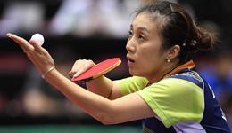 2017乒乓球日本公开赛录像 韩莹vs陈梦女单半决赛