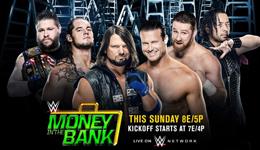 wwe世界摔角娱乐MoneyintheBank wwe世界摔角娱乐2017视频