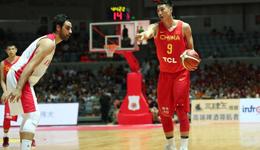 男篮红队热身再胜伊朗 两胜一负收官中伊热身赛