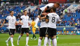 2017年俄罗斯联合会杯 德国3-2胜澳洲