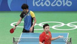 2017乒乓球日本公开赛录像 马龙vs吉村真晴日乒男单视频