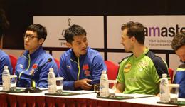 2017中国乒乓球公开赛正赛分组表 马龙张继科赛程表