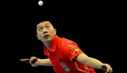 2017中国乒乓球公开赛 马龙4-1爆虐日本田添健汰