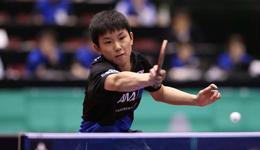 2017中国乒乓球公开赛录像 张本智和vs萨姆索诺夫视频