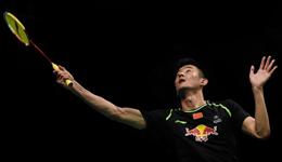 2017印尼羽毛球公开赛 谌龙VS乔纳坦八强比赛视频