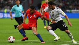 2017年俄罗斯联合会杯 智利1-1平德国